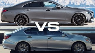 2019 Mercedes CLS vs 2019 Acura RLX