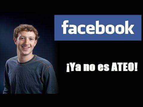 CREADOR DE FACEBOOK YA NO ES ATEO: Mark Zuckerberg