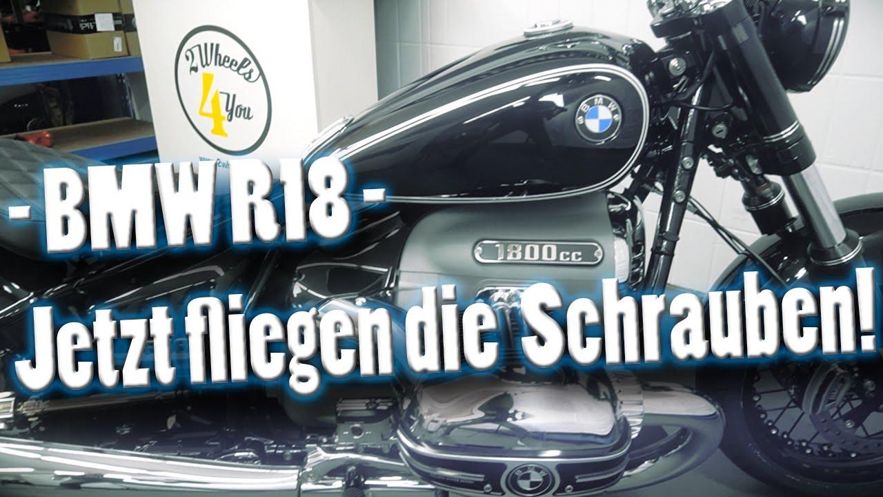 Download BMW R18 - jetzt fliegen die Schrauben