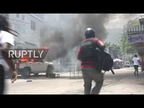 Haiti: Clashes erupt at protest after prominent lawyer shot dead at his home