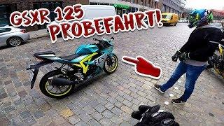 Supersportler mit 16! | GSXR 125 Probefahrt!