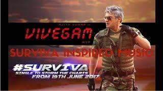 Vivegam - Surviva Instrumental | Ajith Kumar | Anirudh Ravichander | Siva