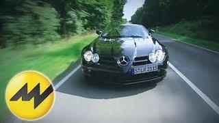 Mercedes SLR McLaren Roadster: Wie fühlen sich 300 km/h mit offenem Verdeck an?