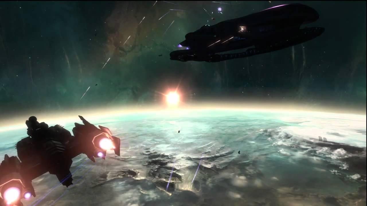 Halo Reach Unsc Savannah Vs Covenant Corvette Youtube