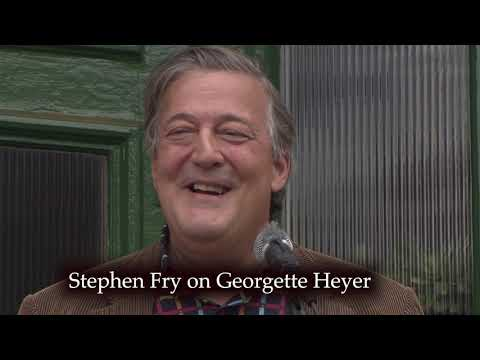 Stephen Fry's love of Georgette Heyer