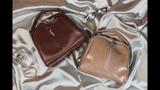 Женская мини-сумочка Камелия | Обзор сумки М234