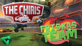 "THE CHIRIS VS FRISKAS TEAM - ""Rocket League"" - Jornada 1- Temporada 1"
