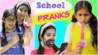KIDS Back To School Funny PRANKS On Friends | #Students #DIY #Funny #Anaysa #MyMissAnand