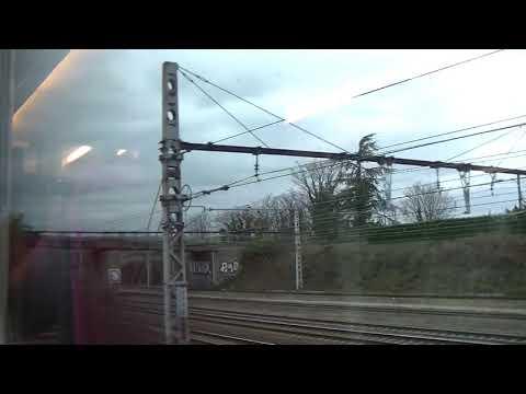Train trajet de Lyon Part Dieu à St Etienne Chateaucreux
