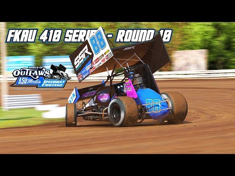 iRacing: FKAU 410 Series - Round 10 (410 Sprintcars @ Williams Grove)