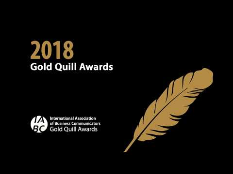 Enter the 2018 IABC Gold Quill Awards