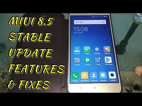 Miui 8 Stable 8.5 Update Features N Fixes | Hindi