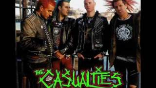 The Casualties - get off my back + lyrics