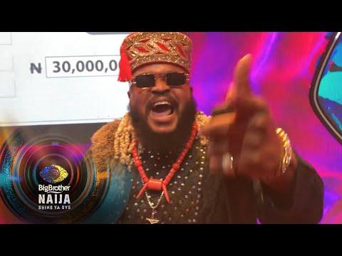 Finale: Whitemoney wins Season 6! – BBNaija | Big Brother: Shine Ya Eye | Africa Magic