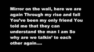 Lil Wayne ft Bruno Mars - Mirror Lyrics On Screen and Description
