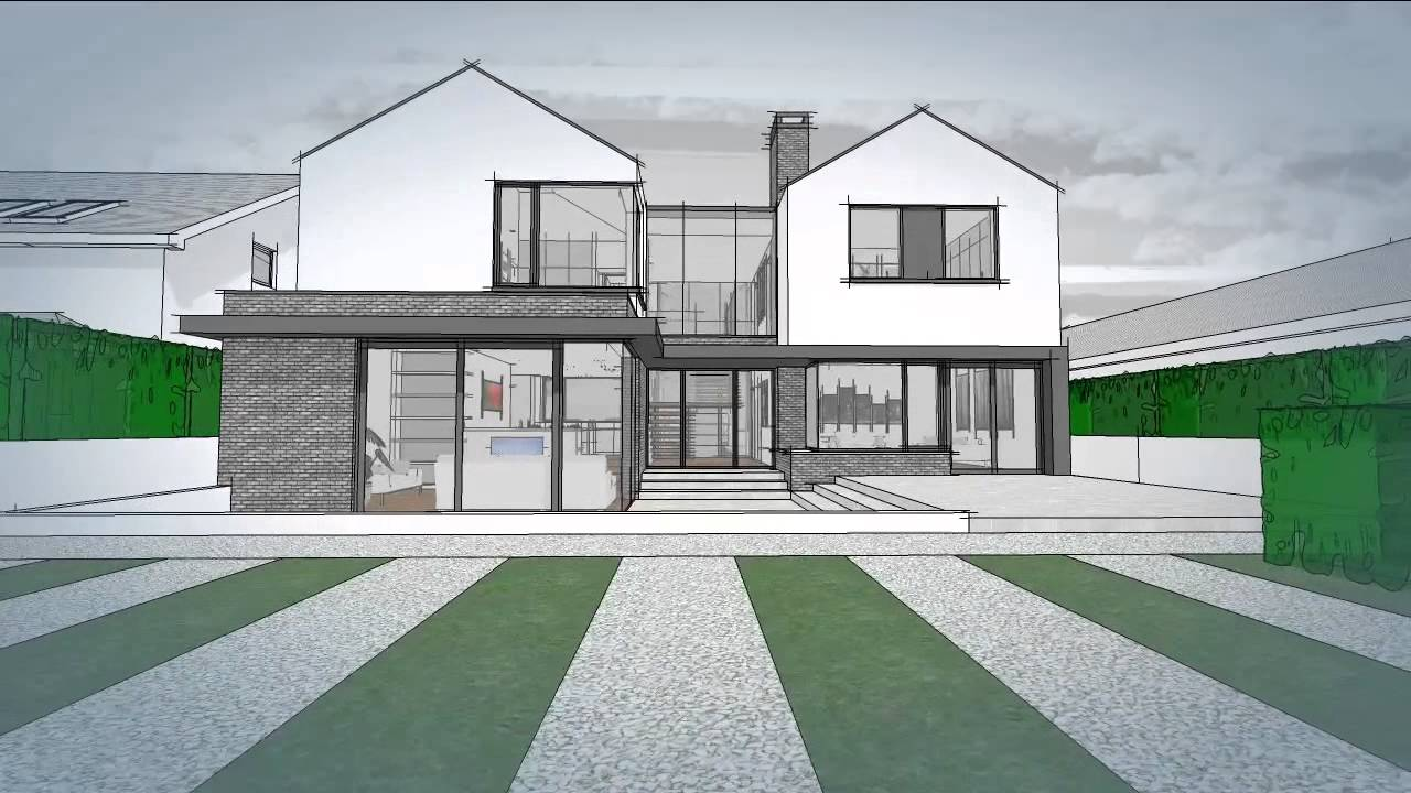 extend new house south county dublin www extend ie youtube