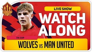 WOLVES vs MANCHESTER UNITED | With Mark Goldbridge LIVE