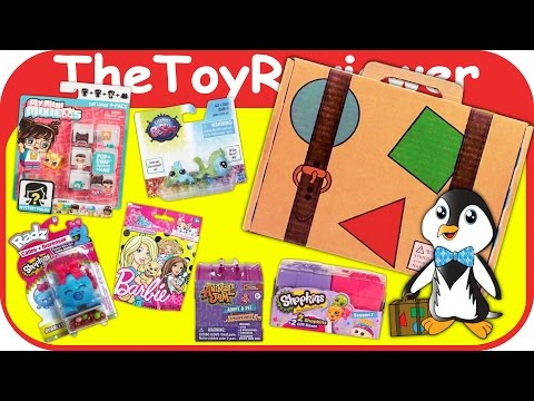 Sundae's World Subscription Box March 2017 Girls Blind Bags Unboxing Toy Review by TheToyReviewer