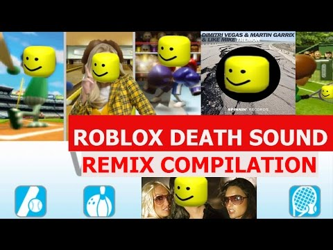 Roblox Death Sound Meme - REMIX COMPILATION