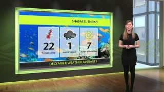 December Holiday Weather - Tenerife, Malta, Sham El Sheikh
