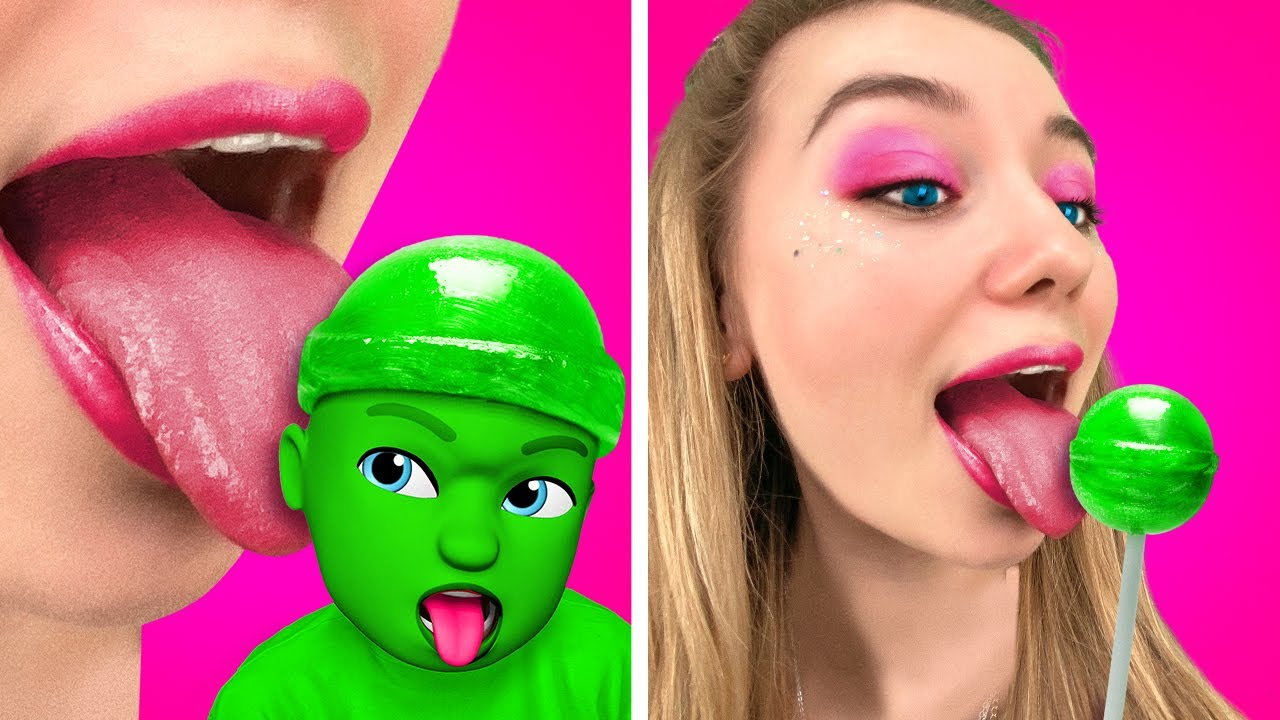 Download IF CANDIES WERE PEOPLE | Funny relatable moments by La La Life Emoji