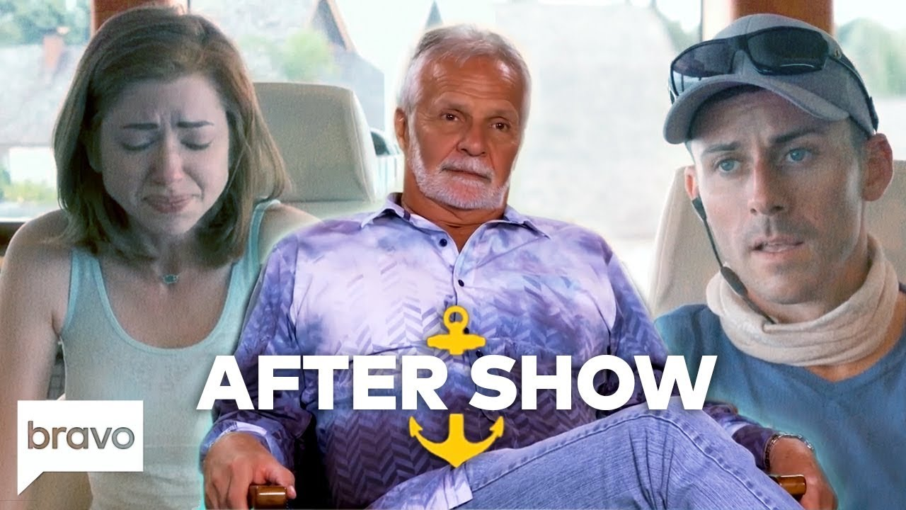 Chandler Brooks Is Fired And Caroline Bedol Quits | Below Deck After Show  (S6 Ep9)