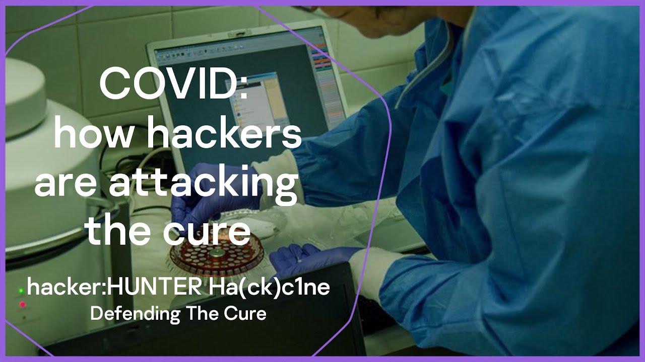 hacker:HUNTER Ha(ck)c1ne: Defending the Cure