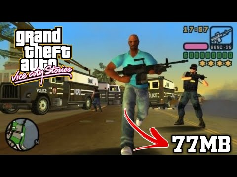 {77MB} How To Download Gta Vice City Stories In Android || Highly Compressed
