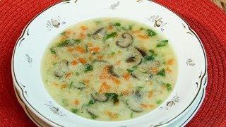 Вкусный грибной суп -  Рецепт Бабушки ОЛИ