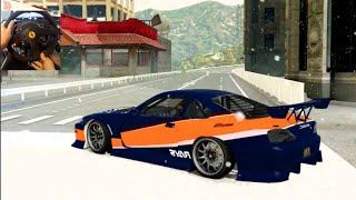 GTA 5 PC MODS - Fujimi Kaido! GoPro Drifting - S15-350z-Rx7 - 30 Min Special