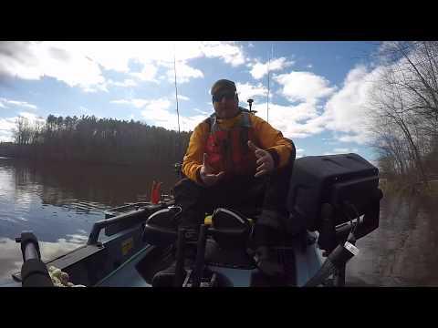 Cold Water Kayak Fishing