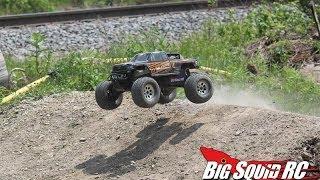 HPI Savage XL Octane Bashing Speed Run