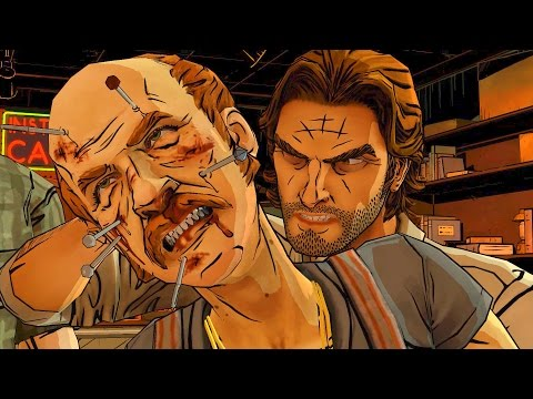 Wolf and Woodsman Fight with Jersey Devil (Wolf Among Us | Telltale Games Story | Fables)