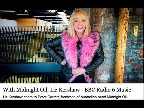 MIDNIGHT OIL - Peter Garrett Interview On BBC Radio 6 - 8 July 2017