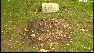 grave of boy who died in 1911 freshly dug up