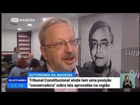 """Luis F. :""""O Tribunal Constitucional tem uma posição """"conservadora"""" sobre leis aprovadas na Região"""