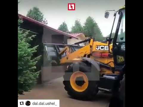 Dave Hill - Guy Get Fired Then Drives Heavy Equipment Into The Office