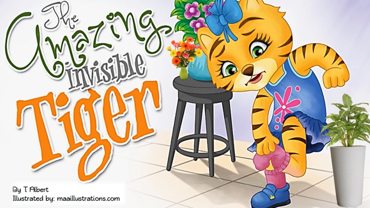 THE AMAZING INVISIBLE TIGER | Read Aloud | Storytime by T.Albert | Kids Books Read Aloud | Winter