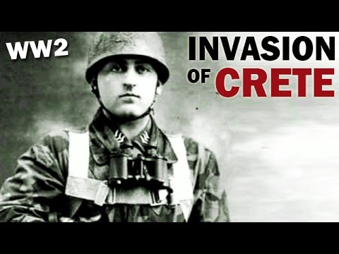German Airborne Invasion of Crete | 1941 | World War 2 Documentary