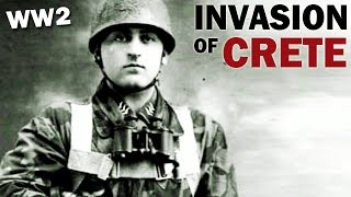 Battle of Crete | 1941 | German Invasion of Crete | German Paratroopers in Action | WW2 Documentary