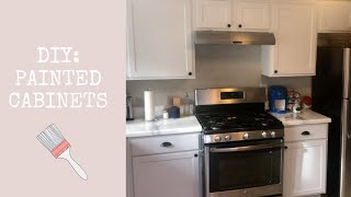 DIY PAINTED CABINETS FOR BEGINNERS