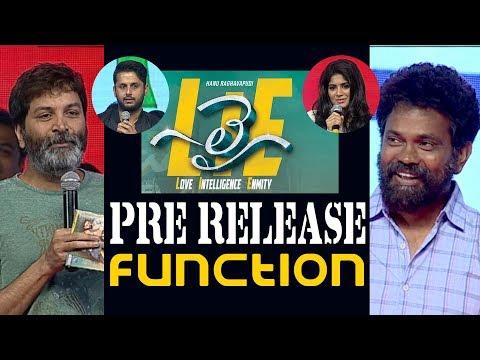 Nithin's LIE Pre Release Function Full Video    Hanu Raghavapudi    Megha Akash    14 Reels