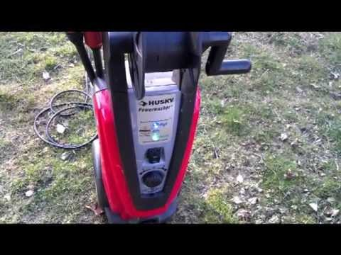 Pressure Washer Husky H2000 Power Washer Youtube