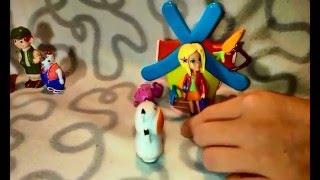 """Видео для детей. """"Три китайца""""  скороговорка. Как девочки играют в куклы, детское видео.0+"""