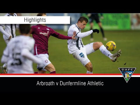 Arbroath Dunfermline Goals And Highlights