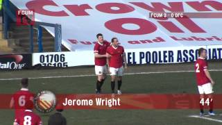 FC United of Manchester vs Droylsden FC - Goals - 01-03-14