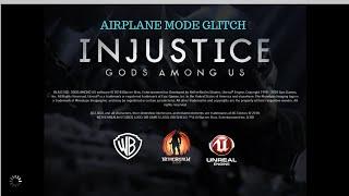 INJUSTICE: GODS AMONG US iOS - AIRPLANE MODE GLITCH (2.19)