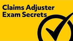 Adjusters license