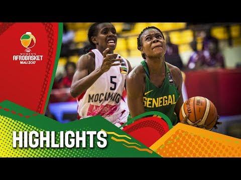 Mozambique v Senegal - Highlights - Semi-Final - FIBA Women's AfroBasket 2017