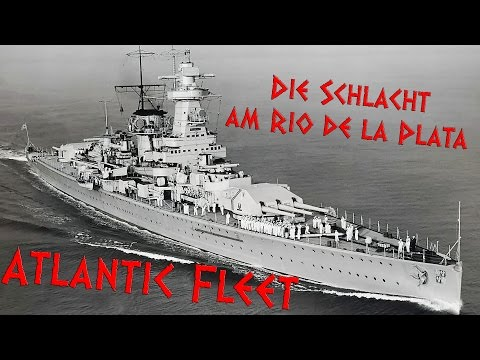 Die Schlacht am Rio de la Plata - Atlantic Fleet Gameplay